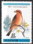 Sellos de Asia - Corea del norte -  aves