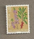 Stamps Switzerland -  Pro Juventute 1974