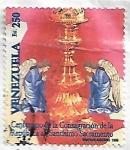 Sellos del Mundo : America : Venezuela : Centenario de la Consagración de la República al Santísimo Sacramento
