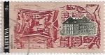 Sellos de Europa - Lituania -  Castillo de Birzai