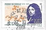 Sellos de Europa - Francia -  Pierre de Fermat, matemático