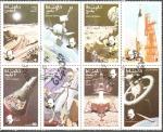 Stamps : Asia : Oman :  VIAJES  ESPACIALES  Y  SIR  WINSTON  CHURCHIL