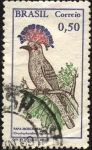 Stamps Brazil -  Papa mosca real.