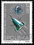 Sellos del Mundo : Europa : Polonia : Espacio Exterior - Satellite Exploring the Ionoshere