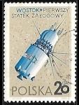 Sellos del Mundo : Europa : Polonia : Espacio Exterior - Vostok (USSR)