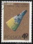 Sellos del Mundo : Europa : Polonia : Espacio Exterior - Gemini, American Spacecraft