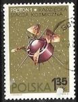 Sellos del Mundo : Europa : Polonia : Espacio Exterior - Proton 1 (USSR)