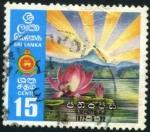 Stamps Sri Lanka -  Amanecer