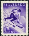 Sellos del Mundo : Europa : Eslovaquia : Esqui