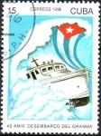 Sellos del Mundo : America : Cuba : 40th  ANIVERSARIO  DESEMBARCO  DEL  GRANMA