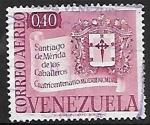 Stamps : America : Venezuela :  Fundación de Santiago de Mérida