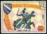 Sellos del Mundo : Africa : Guinea_Ecuatorial : Caballeros de la Edad Media