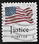 Stamps : America : United_States :  Justice for ever