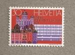 Stamps Switzerland -  Fundación UPU Berna