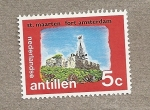 Stamps America - Netherlands Antilles -  Fuerte Amsterdam San Marten