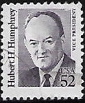 Stamps : America : United_States :  Vicepresidente Hubert H. Humphrey