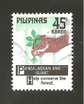 Stamps Philippines -  1254