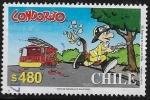 Sellos de America - Chile -  Condorito bombero