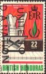 Stamps : America : Belize :  AÑO  INTERNACIONAL  DE  LOS  DERECHOS  HUMANOS