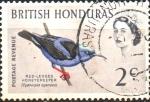 Stamps : America : Belize :  JACANA  AMERICANA  DE  PATAS  ROJAS