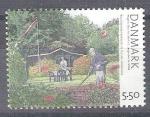 Stamps : Europe : Denmark :  pintura RESERVADO