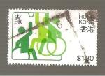 Sellos de Asia - Hong Kong -  406