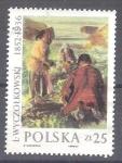Sellos del Mundo : Europa : Polonia : pintura RESERVADO