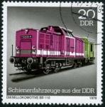 Stamps Germany -  Locomotora