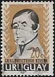 Stamps : America : Uruguay :  Gral. Fructuoso Rivera