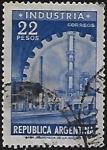 Stamps : America : Argentina :  Industria
