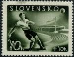 Sellos de Europa - Eslovaquia -  Futbol