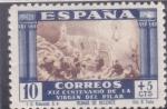 Sellos del Mundo : Europa : España :  XIX CENTENARIO DE LA VIRGEN DEL PILAR-RUINAS DE BELCHITE(43)