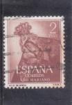 Stamps : Europe : Spain :  NTRA.SRA.DE AFRICA (43)