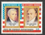 Stamps : Africa : Equatorial_Guinea :  75-75 Bicentenario de los EEUU