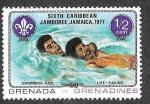 Stamps : America : Grenada :  241 - VI Jamboree del Caribe (GRANADINES)