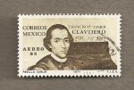 Stamps of the world : Mexico :  Francisco Javier Clavijero