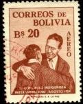 Sellos de America - Bolivia -  3er. Congreso Indigenista Americano agosto 1954.