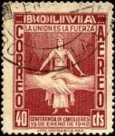 Sellos de America - Bolivia -  3ra. Conferencia de Cancilleres Americanos en Río de Janeiro.