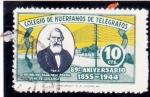 Stamps Spain -  COLEGIO DE HUERFANOS DE CORREOS(43)