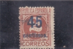 Stamps : Europe : Spain :  CIFRA(43)