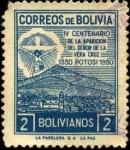 Sellos de America - Bolivia -  4to. centenario de la aparición del Señor de la Vera Cruz.