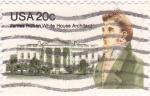 Sellos del Mundo : America : Estados_Unidos : JAMES HOBAN-arquitecto de la Casa Blanca
