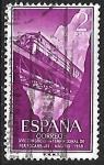 sello : Europa : España : Congreso Internacional de trenes - Puentes