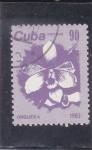 Stamps : America : Cuba :  FLORES- ORQUIDEA