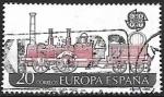 Sellos del Mundo : Europa : España : Europa - Transporte y comunicación