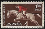 Stamps : Europe : Spain :  Equitación