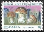de Europa - España -  Setas - Boletus edulis