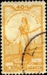 Sellos de America - Bolivia -  Simbolismo del sufragio femenino.