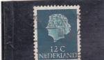 de Europa - Holanda -  Reina Juliana Regina