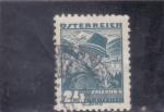 Stamps Austria -  TRAJE TÍPICO SALZBURG